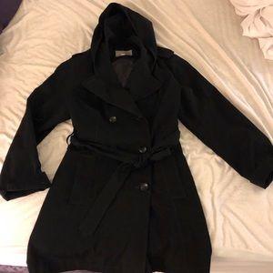 Croft & Barrows hooded raincoat
